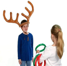 Load image into Gallery viewer, Christmas Reindeer Antler Ring Toss Game gotolovely