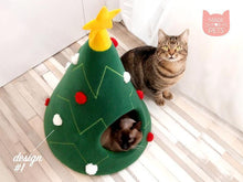 Load image into Gallery viewer, Christmas tree cat house gotolovely