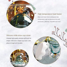 Load image into Gallery viewer, Christmas Tree Double Layer Glass Cup gotolovely