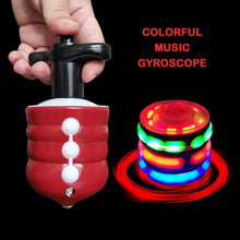 Load image into Gallery viewer, Colorful  Luminous Music Gyroscope Toy gotolovely
