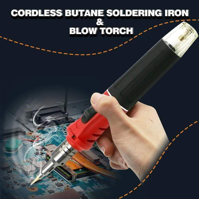 Cordless Butane Soldering Iron & Blow Torch gotolovely