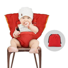 Load image into Gallery viewer, Cozy Cover Easy Seat Portable High Chair Red gotolovely