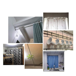 Curtain Telescopic Extendable Rod 70-120cm gotolovely
