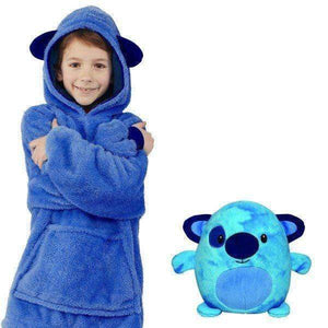 Cute Pets Hoodies(Suitable for all ages) Blue Puppy / 3-6 years gotolovely