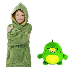 Load image into Gallery viewer, Cute Pets Hoodies(Suitable for all ages) Green Dinosaur / 3-6 years gotolovely