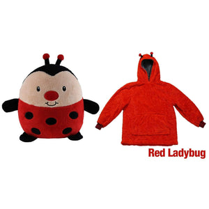 Cute Pets Hoodies(Suitable for all ages) Red ladybug / 3-6 years gotolovely
