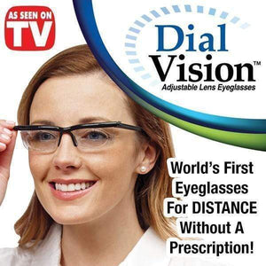 Dial Vision - The World's First Adjustable Eyeglasses gotolovely