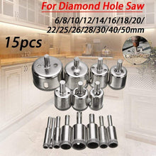Load image into Gallery viewer, Diamond Coated Drill Bit Set gotolovely