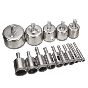 Diamond Coated Drill Bit Set gotolovely