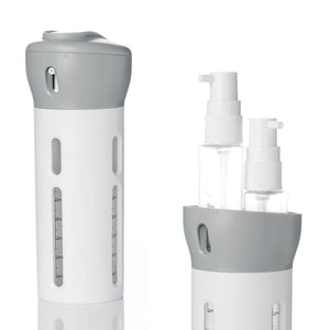 4-in-1 bath products travel dispenser Dispensadores de jabón portátiles Ningbo hinta store