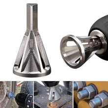 Load image into Gallery viewer, 1*Deburring External Chamfer Tool Silver Hex shank deburring external chamfer tool Drill Bits Cheapest Store
