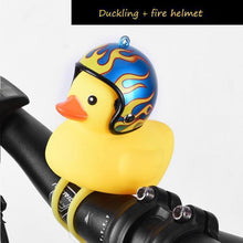 Load image into Gallery viewer, Duck Bicycle Bell & Head Lights Fire gotolovely