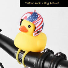 Load image into Gallery viewer, Duck Bicycle Bell & Head Lights US flag gotolovely