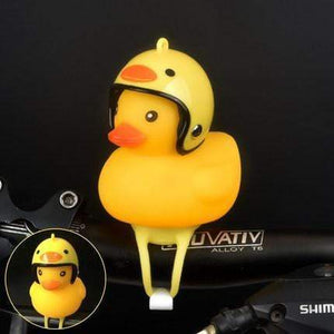 Duck Bicycle Bell & Head Lights Yellow Chick gotolovely