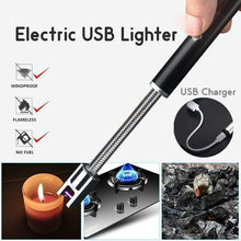 Load image into Gallery viewer, Electric USB Lighter Black gotolovely