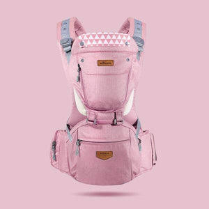 Ergonomic Breathable Hipseat Baby Carrier Pink gotolovely
