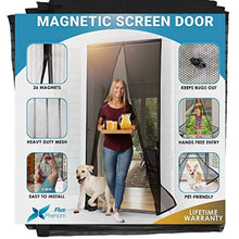 Load image into Gallery viewer, Reinforced Magnetic Mesh Insect Screen Door - GoYeah
