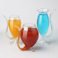 Load image into Gallery viewer, Glass Resistant Sucking  Cup  With Drinking Tube Straw gotolovely