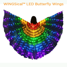Load image into Gallery viewer, Gotolovely™ LED Butterfly Wings MULTICOLOR A gotolovely