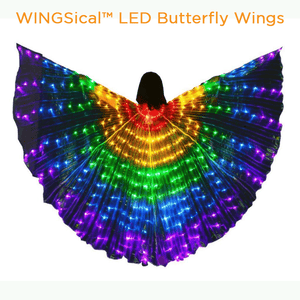 Gotolovely™ LED Butterfly Wings MULTICOLOR A gotolovely