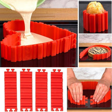 Load image into Gallery viewer, Hirundo DIY Nonstick Silicone Cake Mold Kitchen Baking Mould Tools gotolovely