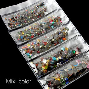 Hot Fix Applicator Mixcolor Crystal (1200 Pcs) gotolovely