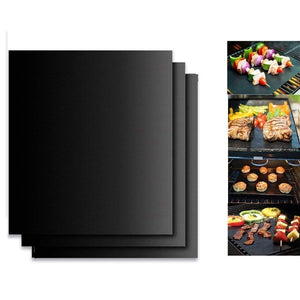 Hot Sale---Mintiml Grill Mat(3Pcs) Black gotolovely