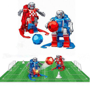 Indoor Outdoor Fun Sport Ball Games--Soccer robot 2-player game gotolovely