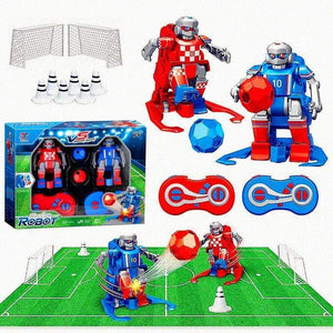 Indoor Outdoor Fun Sport Ball Games--Soccer robot 4-player game gotolovely