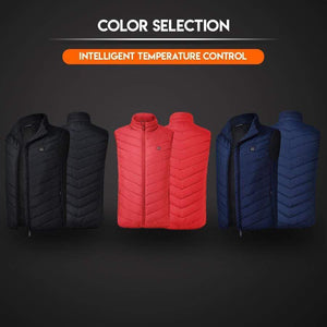 Instant Warmth Heating Vest S / Black gotolovely