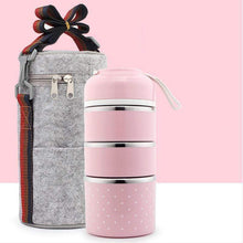 Load image into Gallery viewer, Insulation bucket Three Tier + Bag gotolovely