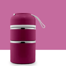 Load image into Gallery viewer, Insulation bucket TWO TIER PURPLE gotolovely