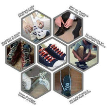 Load image into Gallery viewer, LAZY SHOE LACE (12PCS)---Works in all shoes gotolovely