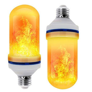 LED Flame Effect Flickering Fire Light Bulb with Gravity Sensor Yellow flame / 1pcs gotolovely
