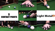 Load image into Gallery viewer, Light Metal Billiard-assisted finger covers gotolovely