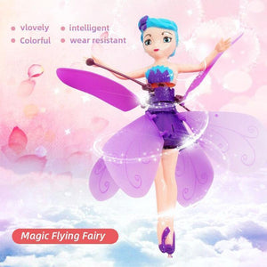 Magic Flying Fairy Princess Doll Pink gotolovely