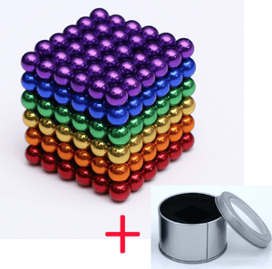 Magnetic Magic Cube - 3mm 6 Colors / 3mm gotolovely