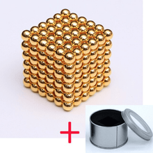 Load image into Gallery viewer, Magnetic Magic Cube - 3mm Golden / 3mm gotolovely