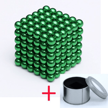 Load image into Gallery viewer, Magnetic Magic Cube - 3mm Green / 3mm gotolovely