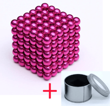Load image into Gallery viewer, Magnetic Magic Cube - 3mm Pink / 3mm gotolovely