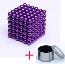 Load image into Gallery viewer, Magnetic Magic Cube - 3mm Purple / 3mm gotolovely