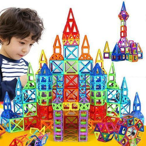 Magnetic mania building blocks kids Angelharbor