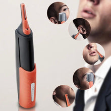 Load image into Gallery viewer, Men's nose hair trimmer razor multi-function double-head shaving device with 2 LED 7-cell battery gotolovely
