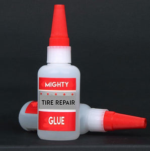 Mighty Tire Repair Glue gotolovely