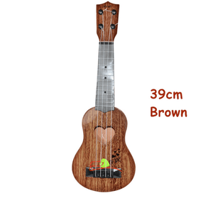 Mini Guitar 15 inch Brown gotolovely