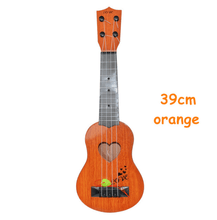 Load image into Gallery viewer, Mini Guitar 15 inch Orange gotolovely