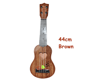 Mini Guitar 17 inch Brown gotolovely