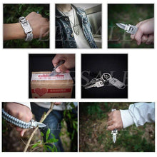Load image into Gallery viewer, Outdoor Survival Bracelet gotolovely