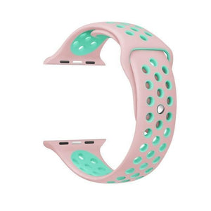 Perforated pink mint green / 38/40 mm gotolovely