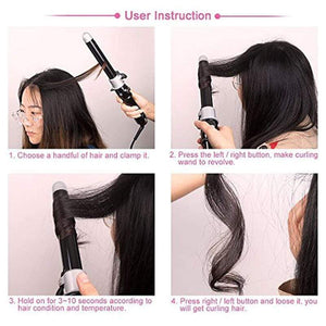 Professional Rotating Curling Iron gotolovely